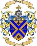 Brogin Family Crest from Ireland