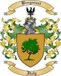 Brogniart Family Crest from Italy
