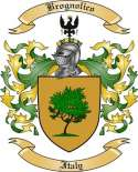 Brognolico Family Crest from Italy