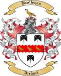 Brollohan Family Crest from Ireland