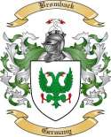 Bromback Family Crest from Germany