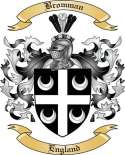 Bromman Family Crest from England