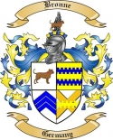 Bronne Family Crest from Germany