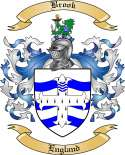 Brook Family Crest from England2