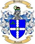 Brookes Family Crest from Ireland
