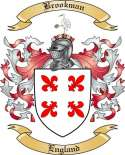Brookman Family Crest from England