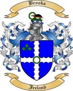 Brooks Family Coat of Arms from Ireland