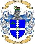 Brooks Family Crest from Ireland