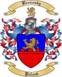 Brososky Family Crest from Poland