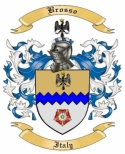 Brosso Family Crest from Italy