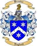 Brostar Family Crest from England