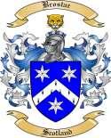 Brostar Family Crest from Scotland