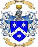 Broster Family Crest from Scotland