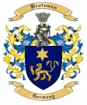 Brotzman Family Crest from Germany