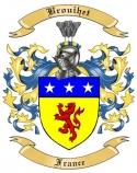 Brouihet Family Crest from France