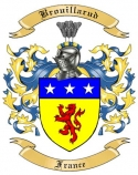 Brouillarud Family Crest from France