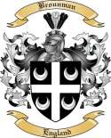 Brounman Family Crest from England