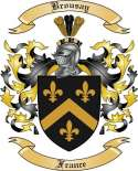 Brousay Family Crest from France