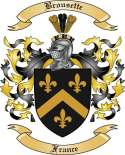 Brousette Family Crest from France