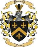 Brousset Family Crest from France