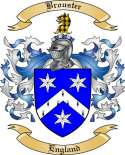 Brouster Family Crest from England