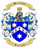 Brouster Family Crest from Scotland