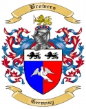 Browers Family Crest from Germany