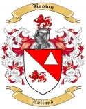 Brown Family Coat of Arms from Holland