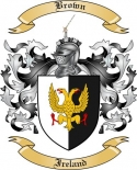 Brown Family Coat of Arms from Ireland