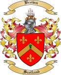Brown Family Coat of Arms from Scotland