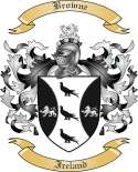 Browne Family Crest from Ireland