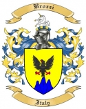 Brozzi Family Crest from Italy