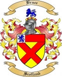 Bruce Family Crest from Scotland