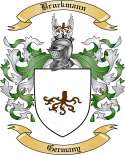 Bruckmann Family Crest from Germany