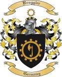 Bruggler Family Crest from Germany