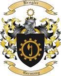 Brugler Family Crest from Germany
