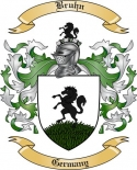 Bruhn Family Crest from Germany2