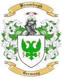 Brumbagh Family Crest from Germany