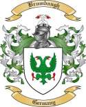 Brumbaugh Family Crest from Germany