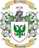 Brumbeck Family Crest from Germany