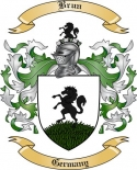 Brun Family Crest from Germany2