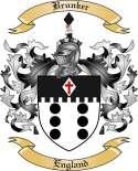 Brunker Family Crest from England