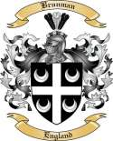 Brunman Family Crest from England