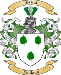 Brunt Family Crest from Holland2