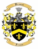 Brusai Family Crest from France