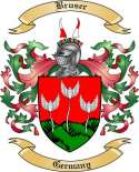 Bruser Family Crest from Germany