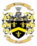 Brussaie Family Crest from France