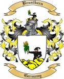 Brustkern Family Crest from Germany