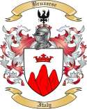 Bruzzese Family Crest from Italy