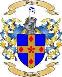 Bryan Family Crest from England